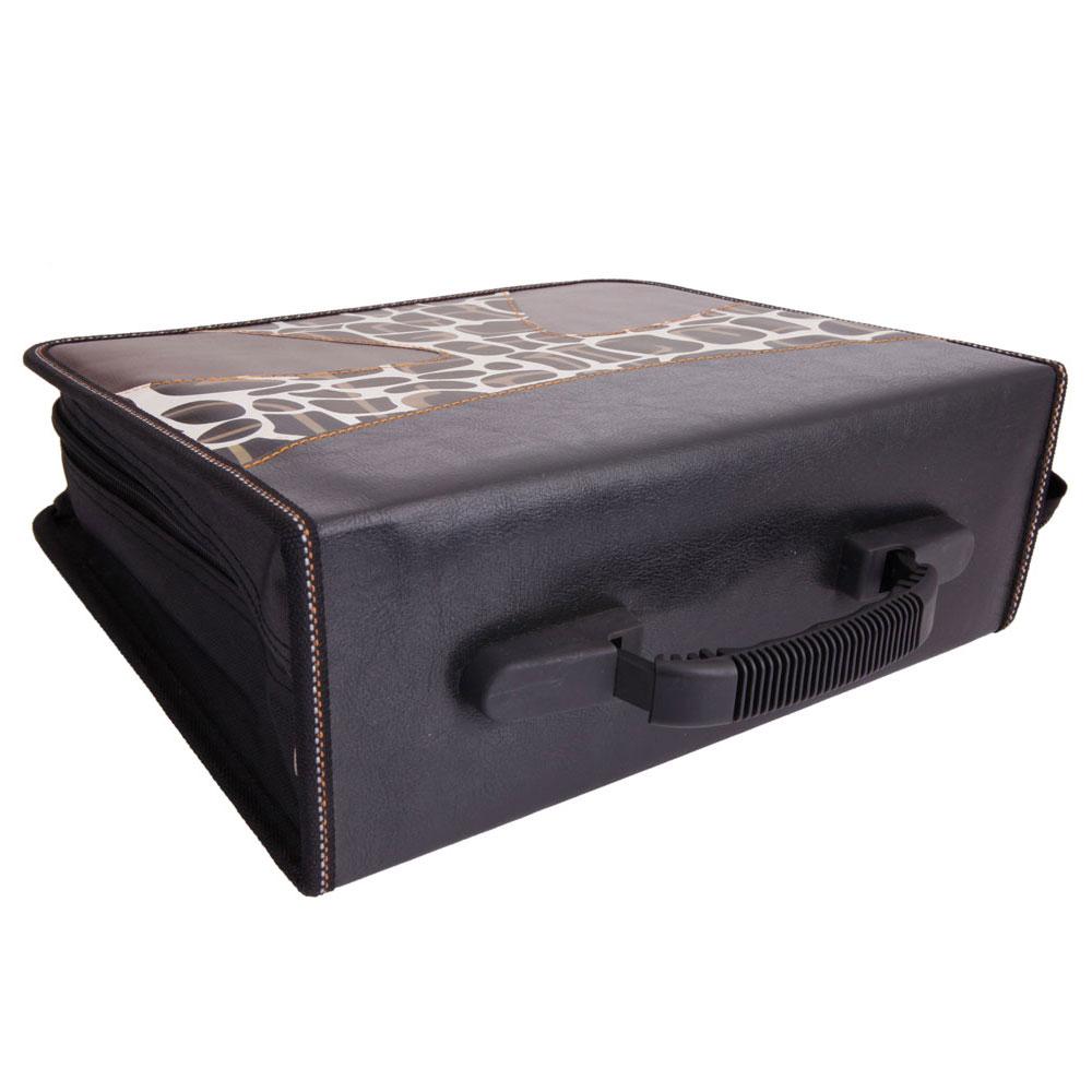 Practial 520Disc CD DVD Storage Bag Holder Carry Media ...