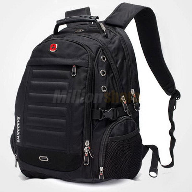 Men Women Laptop Backpack Computer Notebook Outdoor School Travel ...