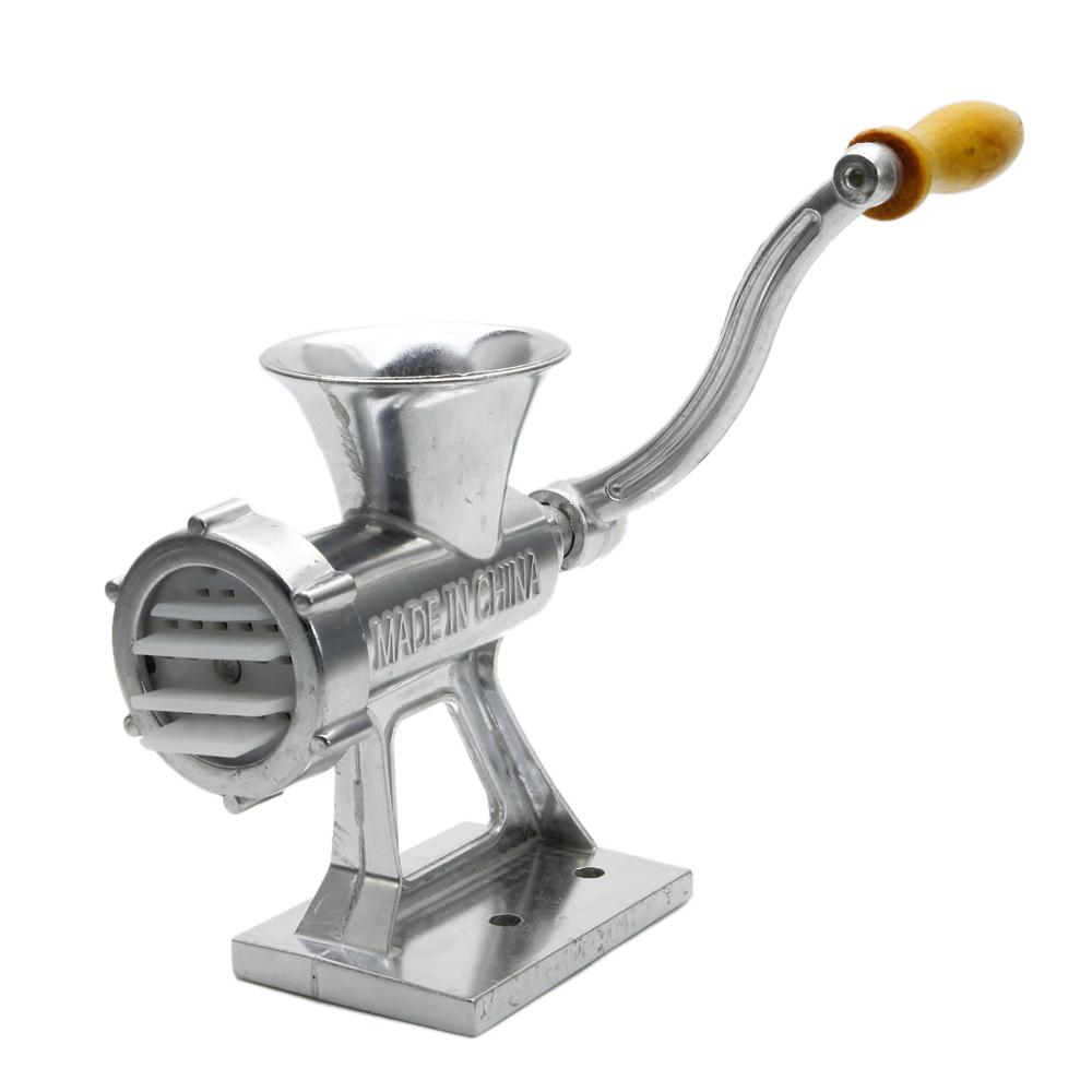 Hand Meat Grinders For Home Use ~ Hand operated crank meat grinder sausage maker mincer