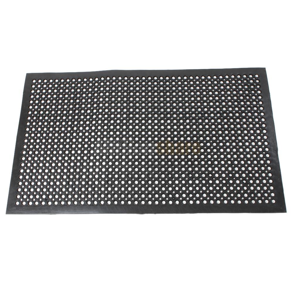 Industrial Heavy Duty Floor Mats: Black Indoor Commercial Industrial Heavy-Duty Anti-Fatigue