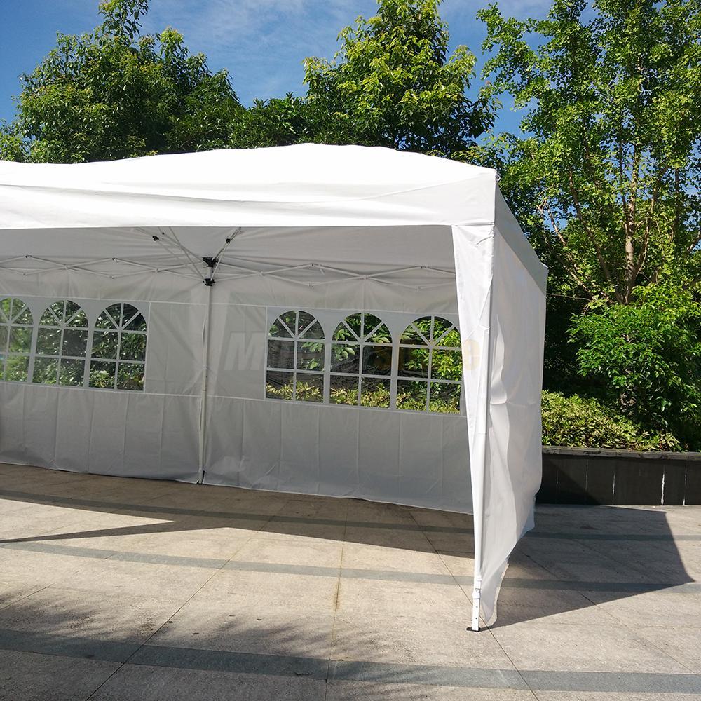 Gazebo Side Walls : Outdoor patio gazebo ez pop up party tent wedding