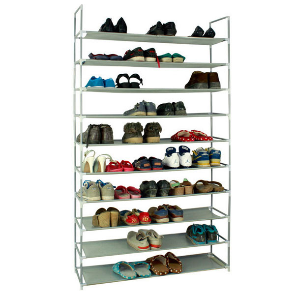Super Details About 10 Layers Shoe Rack 50 Pair Wall Bench Shelf Closet Organizer Storage Box Stand Ocoug Best Dining Table And Chair Ideas Images Ocougorg