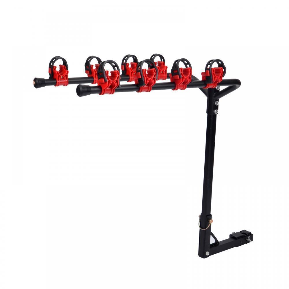 new 4 bicycle bike rack 1 4 u0026quot   2 u0026quot  hitch mount carrier car