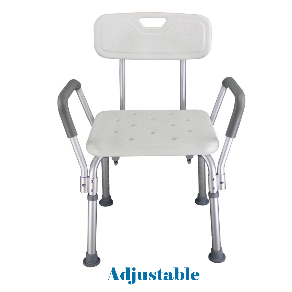 Heavy Duty Medical Shower Chair Elderly Bathroom Aid Stool Mobility ...