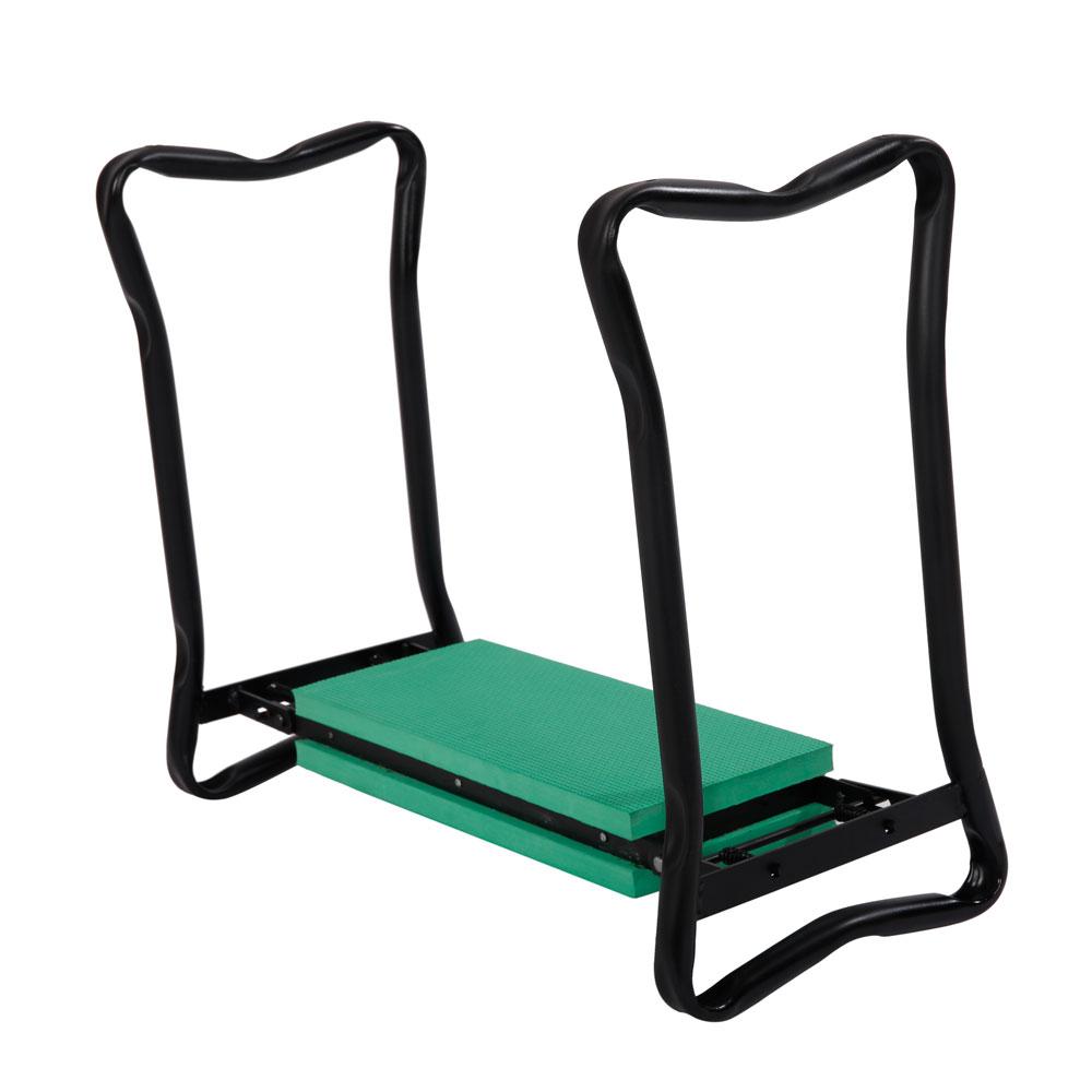 Garden Kneeler Seat Folding Gardening Chair Lawn Bench Kneel Yard Tool Green Ebay