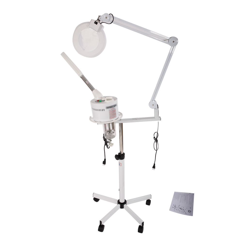 Beauty 5X Magnifying Lamp Salon Spa Facial Steamer Pro 2