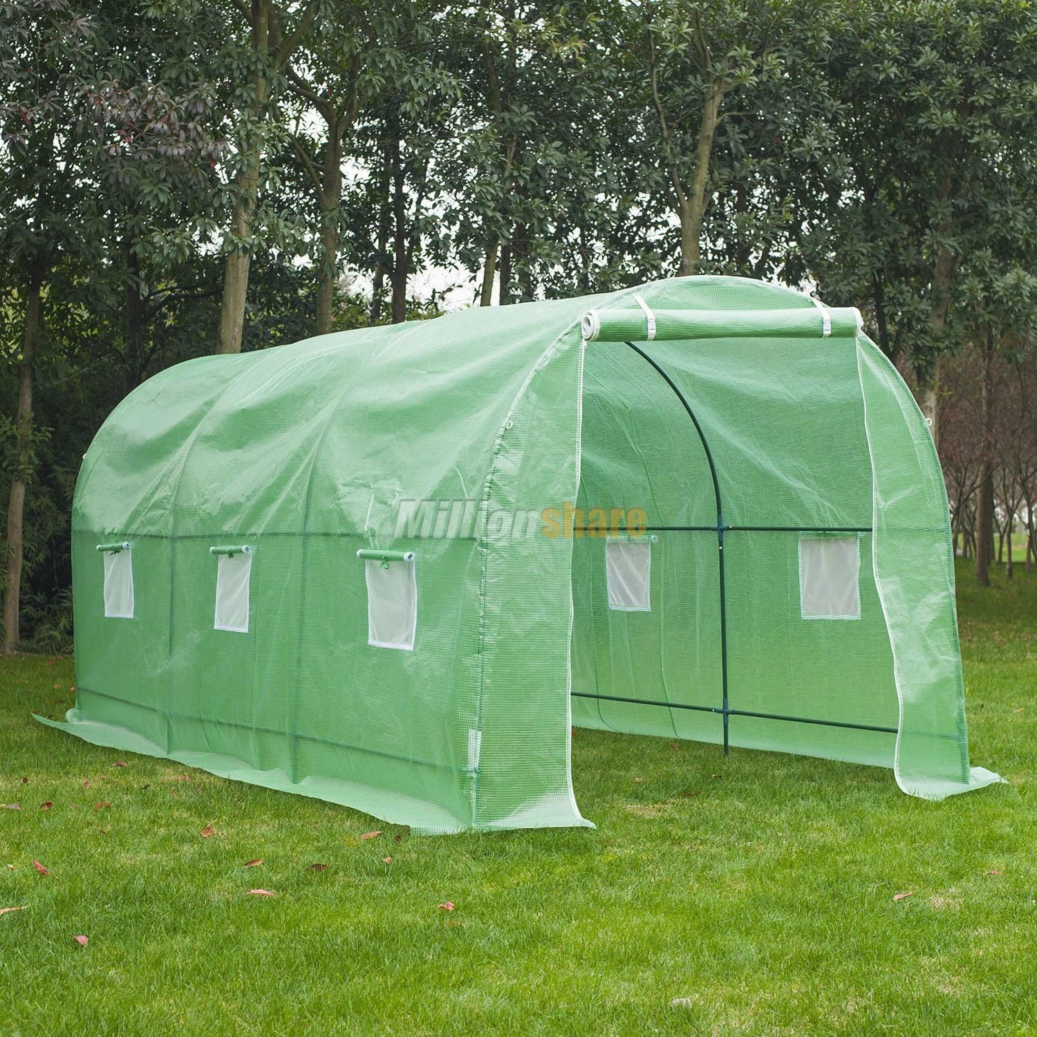 Large Portable Greenhouse : X large walk in portable greenhouse hot green house