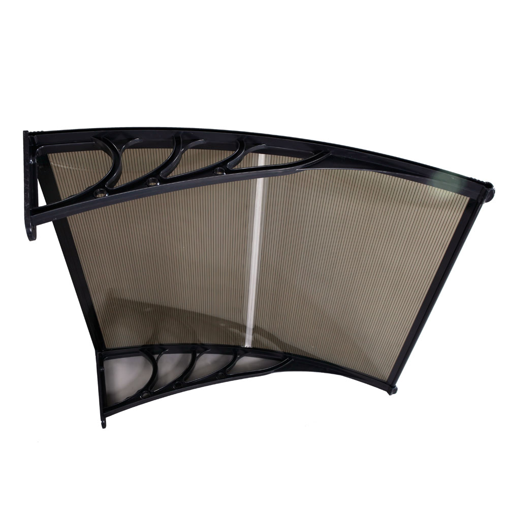 "40""x 40"" DIY Window Awning Door Canopy Polycarbonate ..."