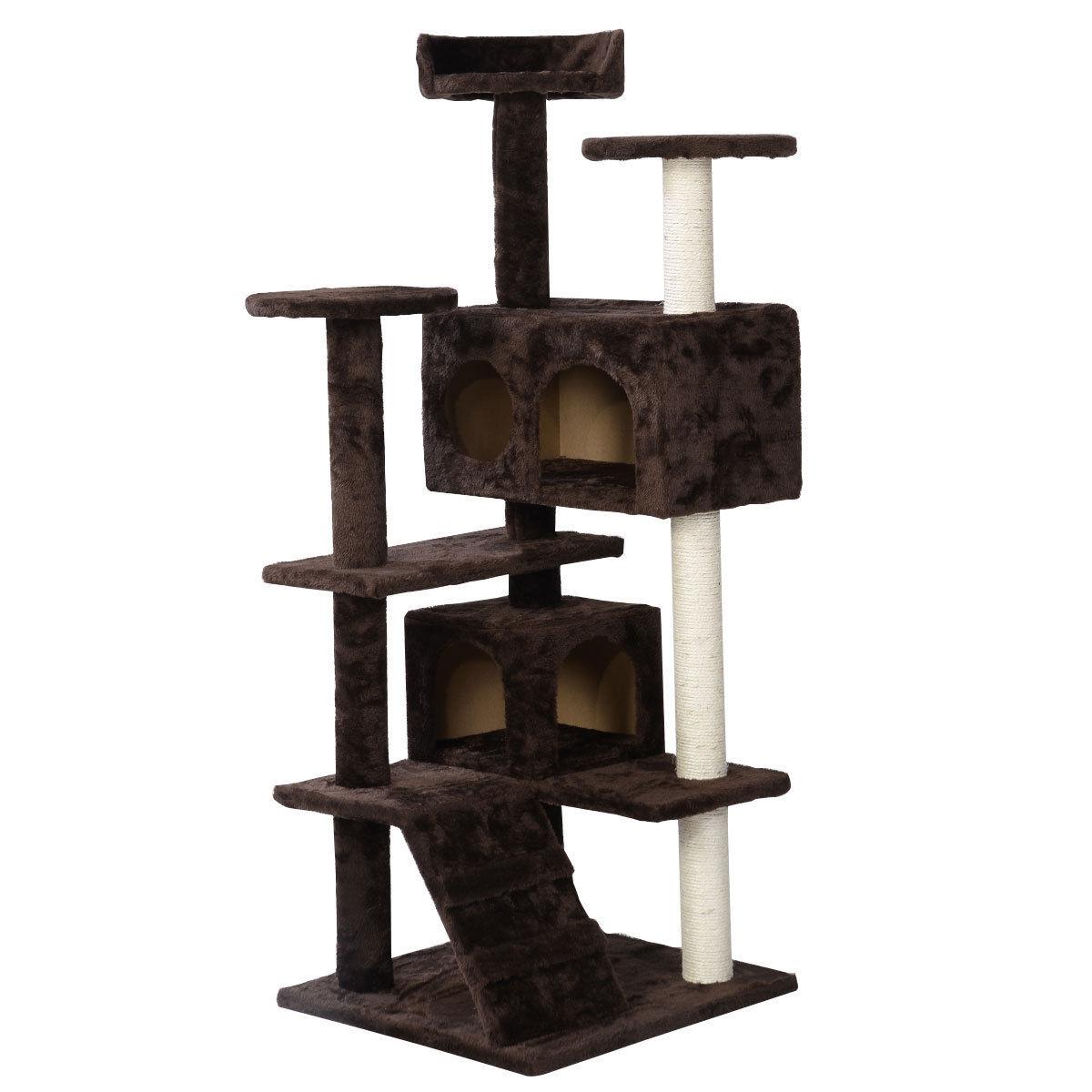 """36"""" 52"""" 60"""" 80"""" Cat Tree Tower Condo Furniture Scratch"""