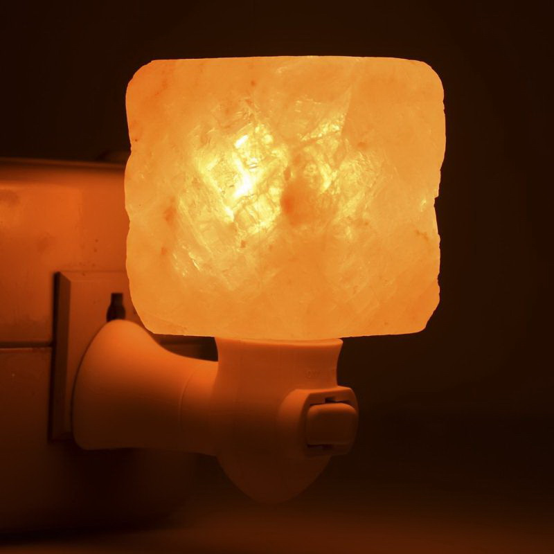 Salt Lamps For Office : Sphere/Mosaic/Cylinder Crystal Himalayan Salt Night Lamp Air Purifier Wall Light eBay