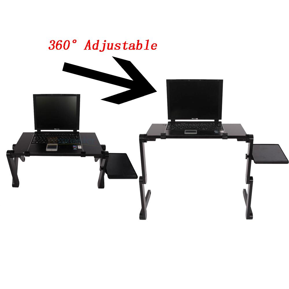 360 176 Adjustable Folding Laptop Notebook Desk Cooling Fan
