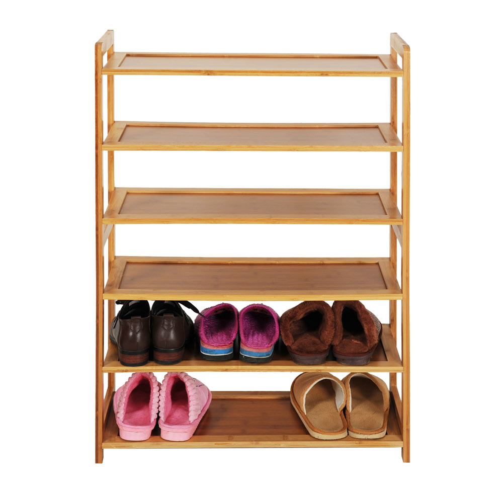 Furniture for shoes Hidden New Durable Bamboo Shelf Tier Wood Home Furniture Entryway Storage Rack Shoe Ebay New Durable Bamboo Shelf Tier Wood Home Furniture Entryway Storage