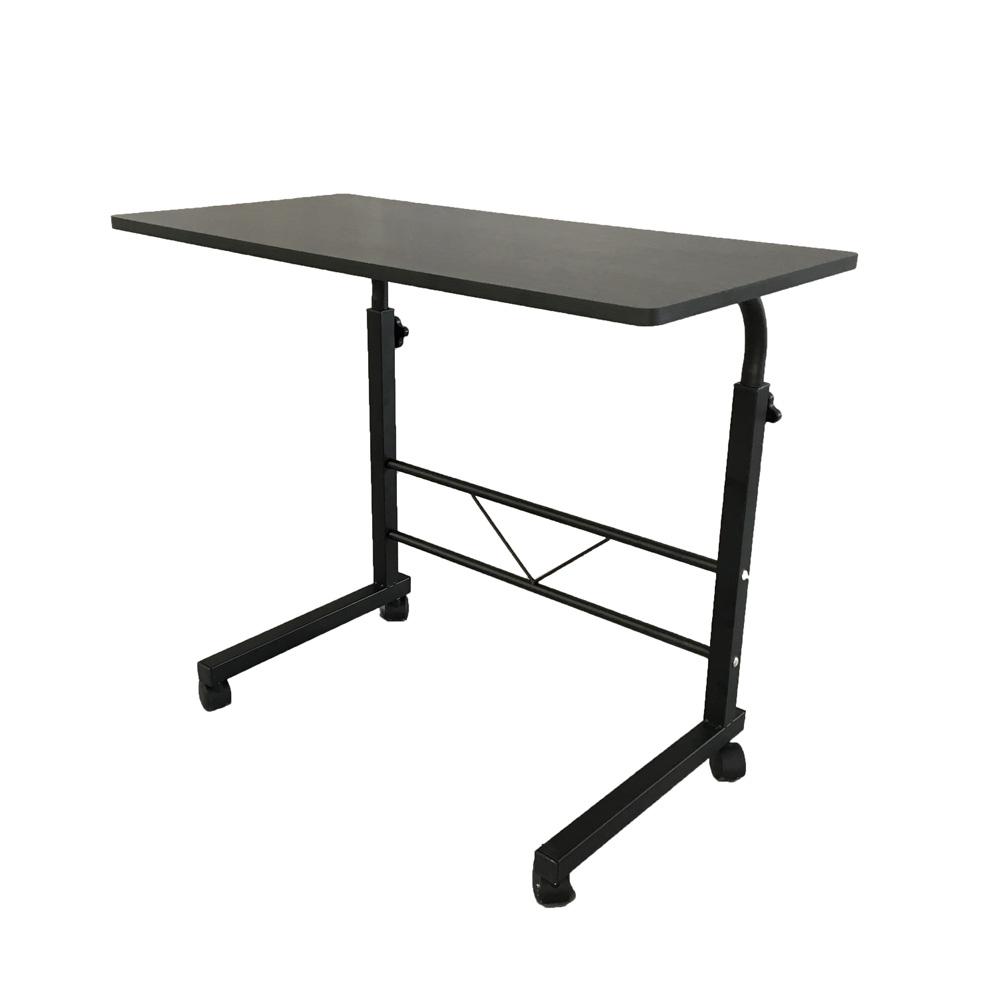 Adjustable Side Table Singapore: Black Adjustable Laptop Table Stand Computer Desk Sofa