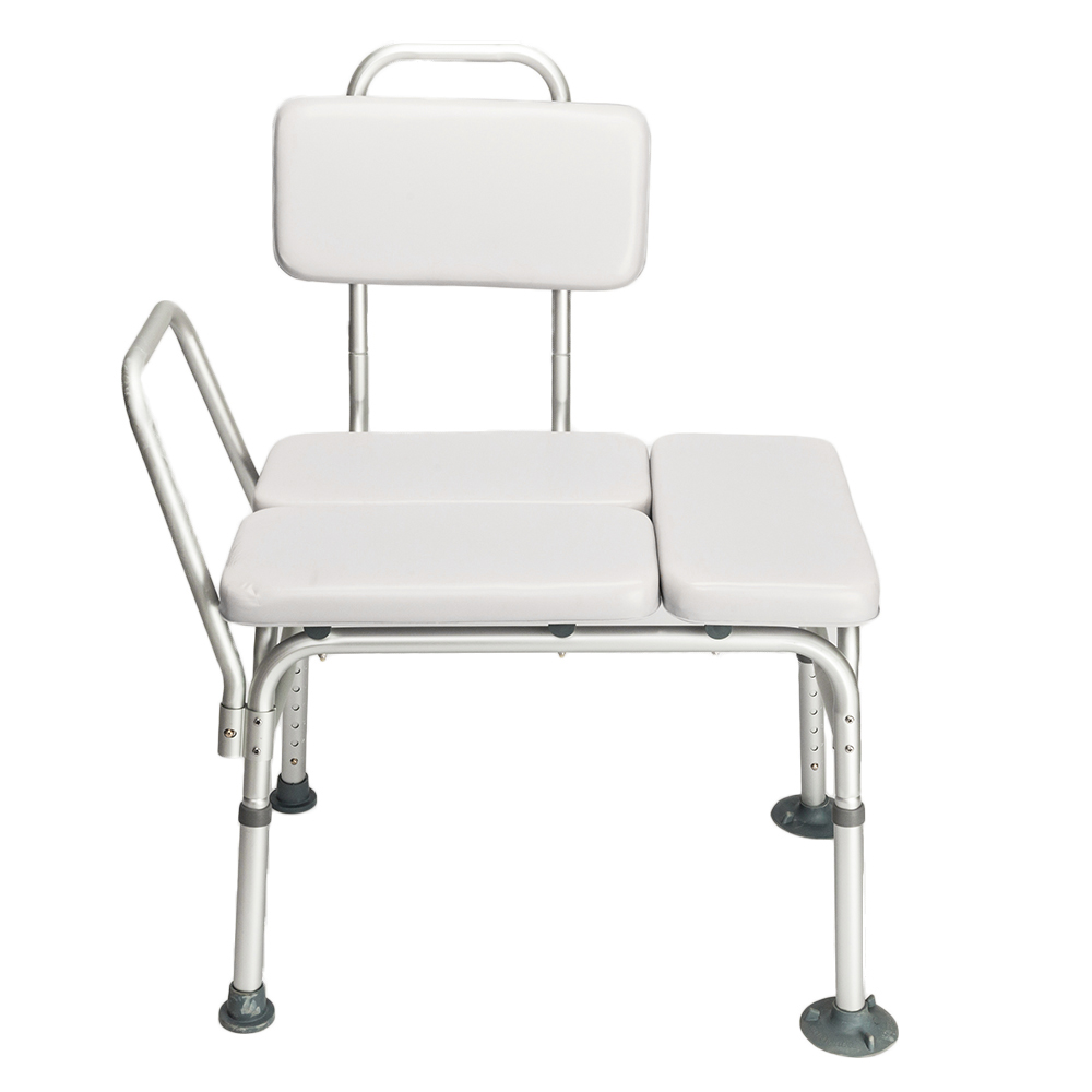 Height Adjustable,Medical Shower Chair,Bath Tub W/Padded Seat Bench ...