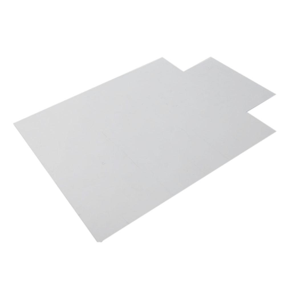 pvc matte desk office chair floor mat protector for hard wood floors 48 x 36. Black Bedroom Furniture Sets. Home Design Ideas
