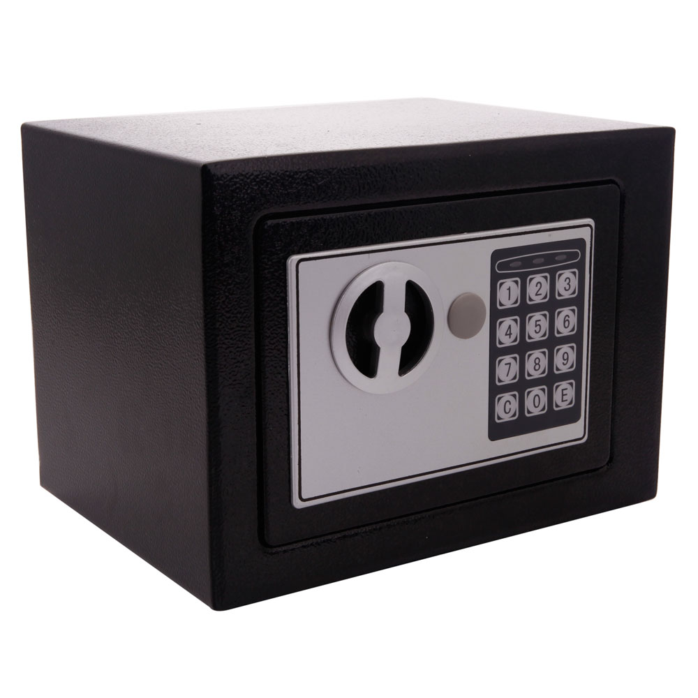 electronic digital safe box keypad lock security home office cash jewelry gun 789464964157 ebay. Black Bedroom Furniture Sets. Home Design Ideas