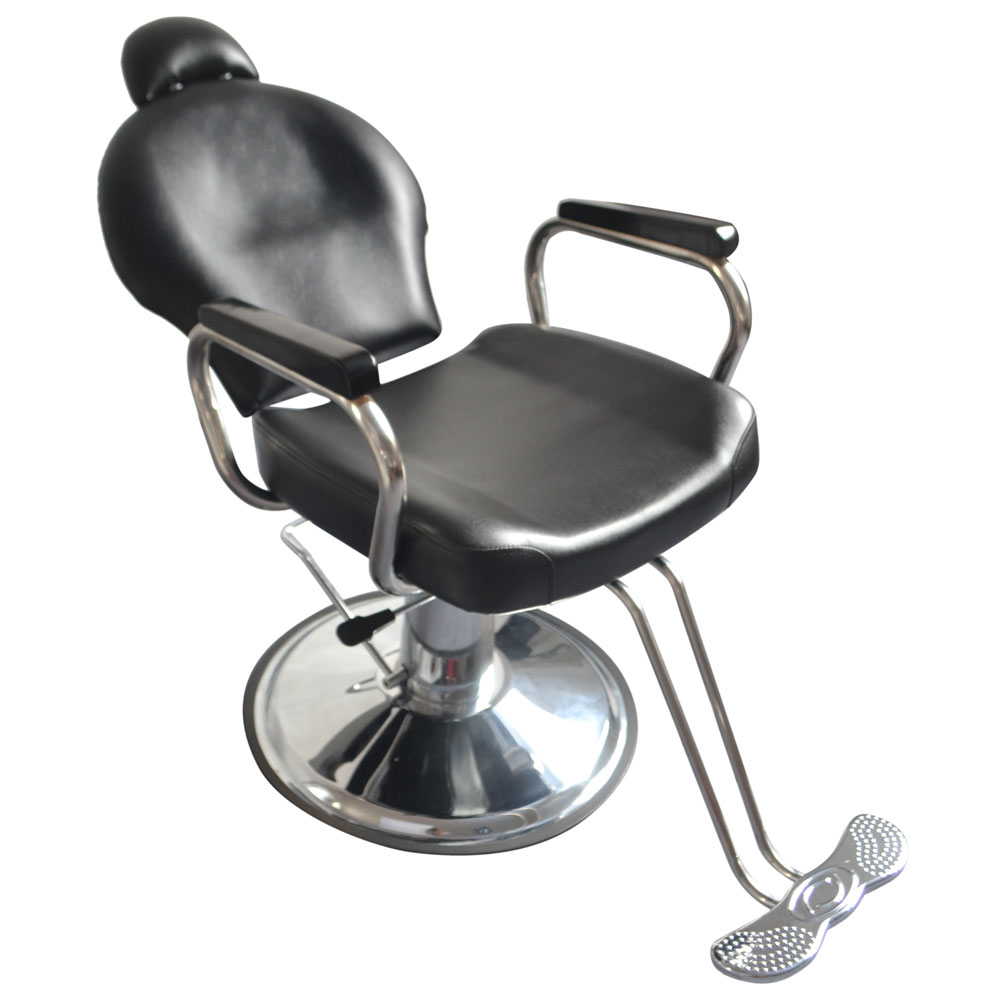 Reclining hydraulic barber chair salon styling beauty spa for Hydraulic chairs beauty salon