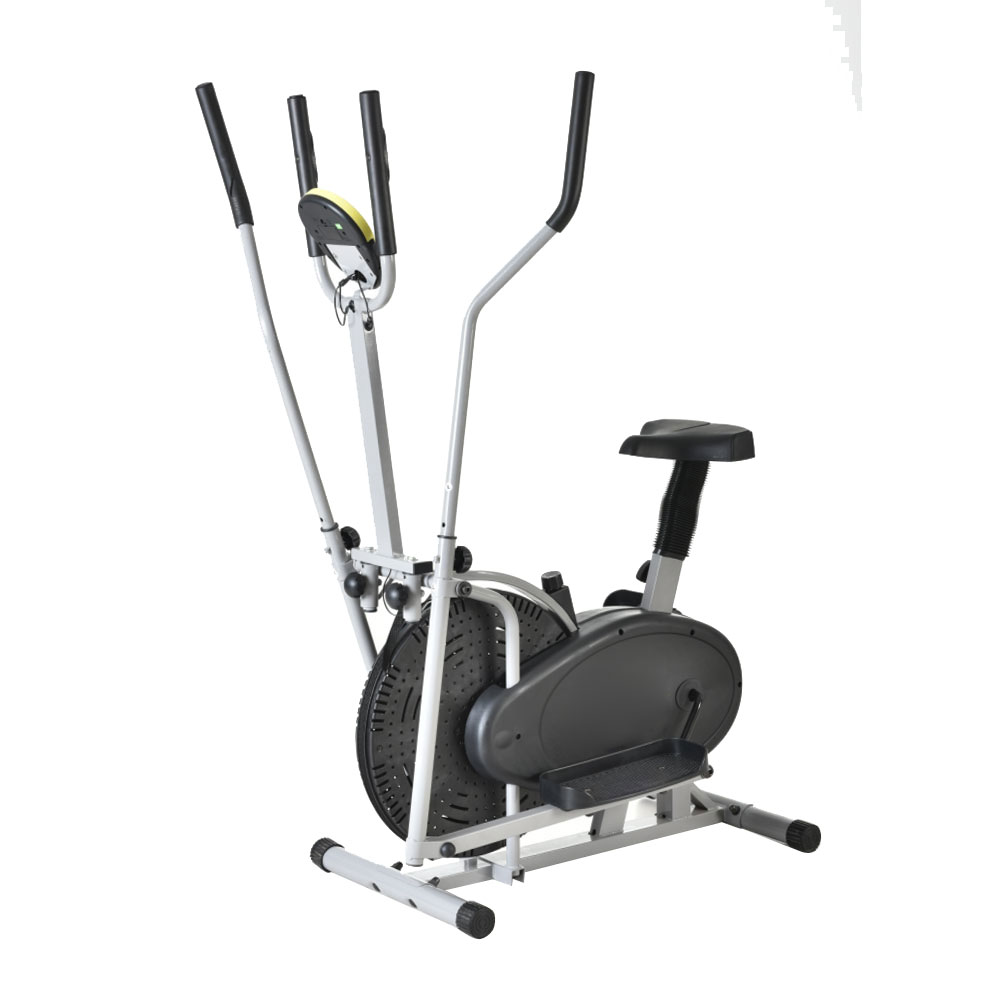 Bike elliptical exercise trainer fitness machine gym