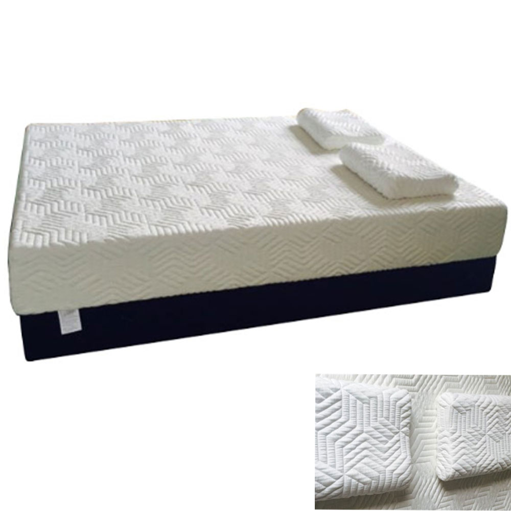 14 inch queen size medium firm memory foam mattress w 3 cool memory foam top ebay. Black Bedroom Furniture Sets. Home Design Ideas