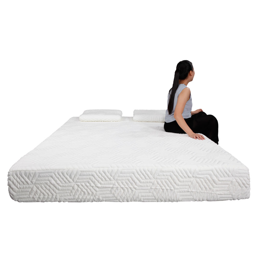 Traditional Pillow Size : New Traditional Firm Memory Foam Mattress Bed 10
