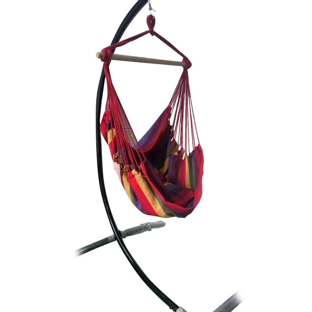 New chair hanging rope swing hammock outdoor porch patio for Rope hammock plans