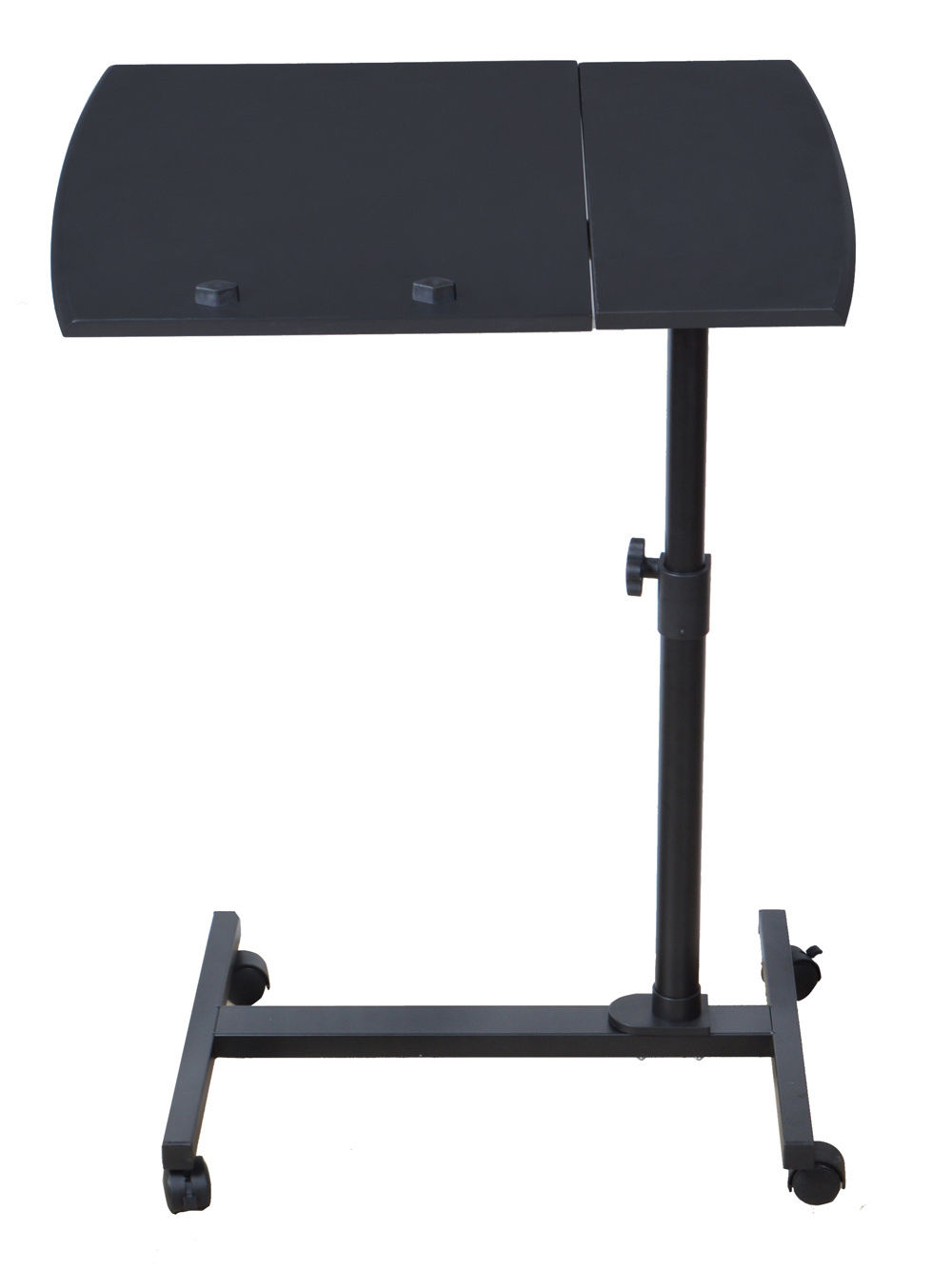 laptop desk angle height adjustable rolling notebook sofa bed tray table stand ebay. Black Bedroom Furniture Sets. Home Design Ideas
