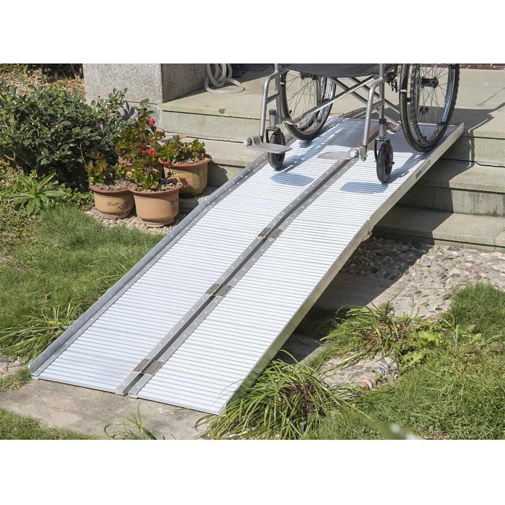 2 39 4 39 5 39 6 39 8 39 10 39 aluminum fold portable wheelchair ramp for Wheelchair home