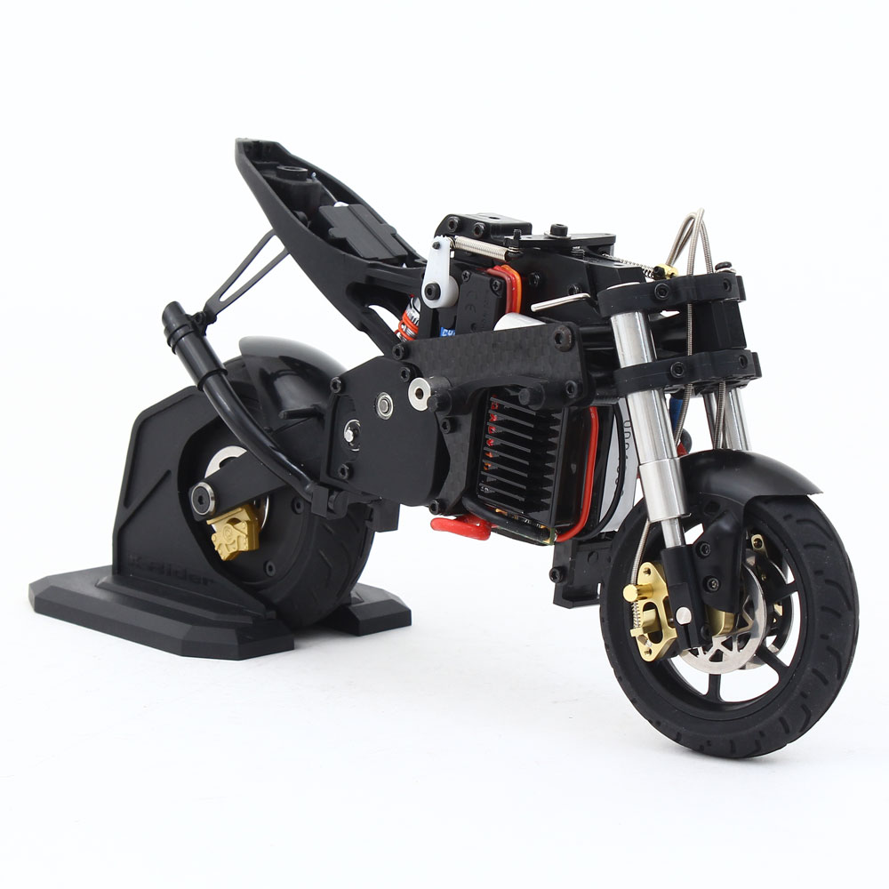 x rider t20gc 1 10 scale 2 4ghz brushless motor built in gyroscope rc motorcycle ebay. Black Bedroom Furniture Sets. Home Design Ideas