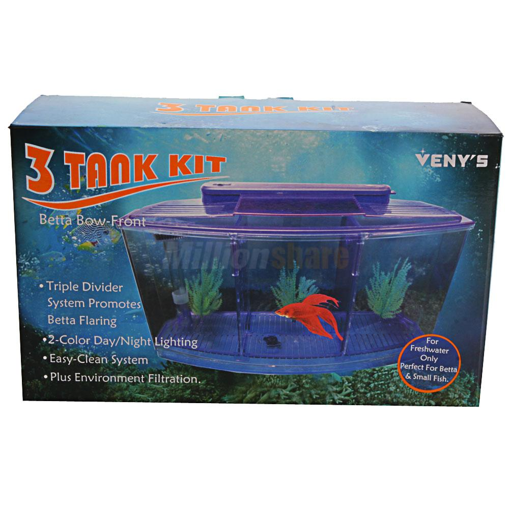 Fish aquarium price in pakistan - The 3 Compartment Acrylic Fish Tank Small Aquarium With Led Light Will Be An Ideal Home For Your Beloved Pet Fishes And Shrimps With Two Separator Boards