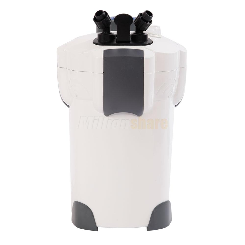 Sunsun Lighting: 3-Stage Aquarium Canister Filter 370GPH With 9W UV