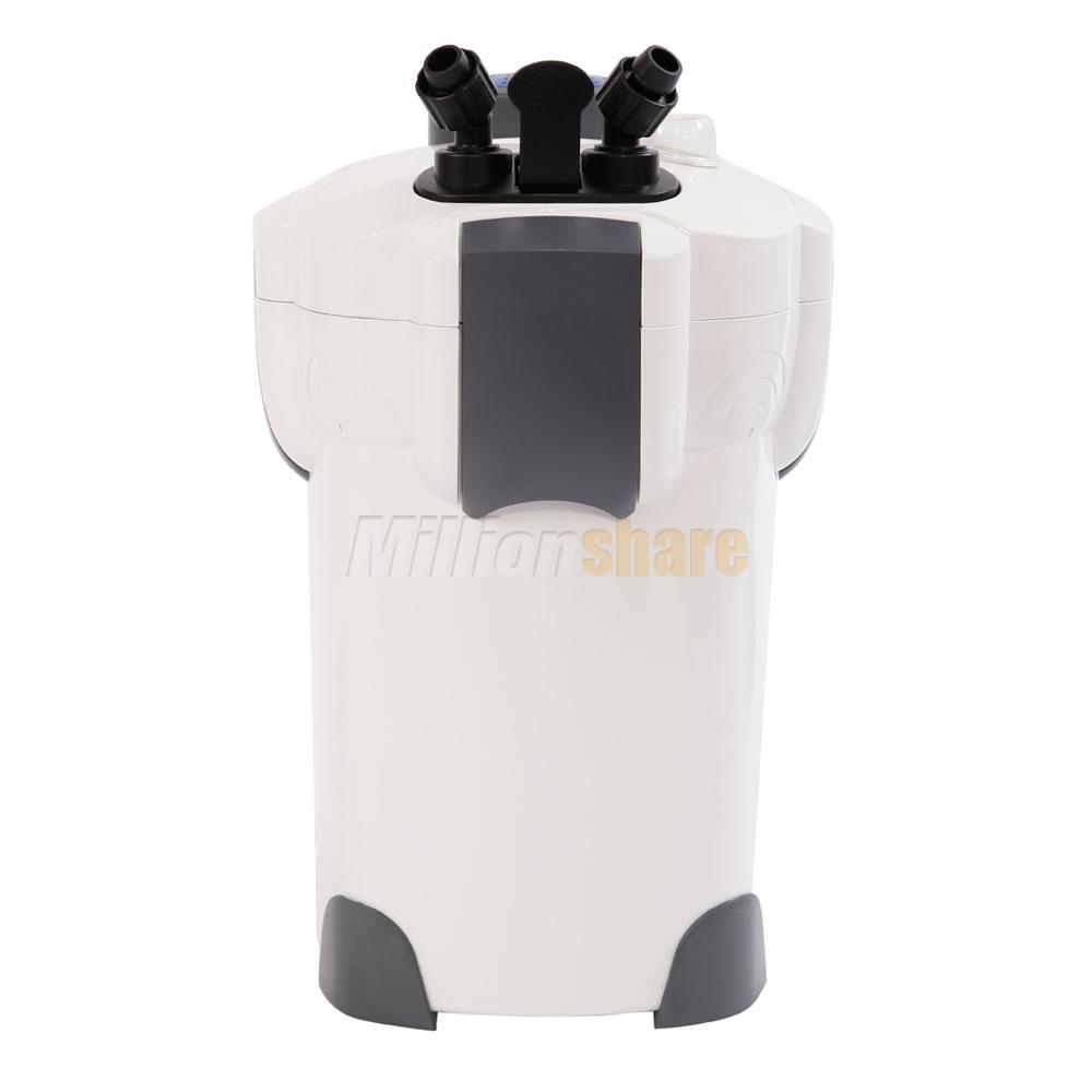 Sunsun Lighting: 3-Stage Aquarium Canister Filter 525GPH With 9W UV