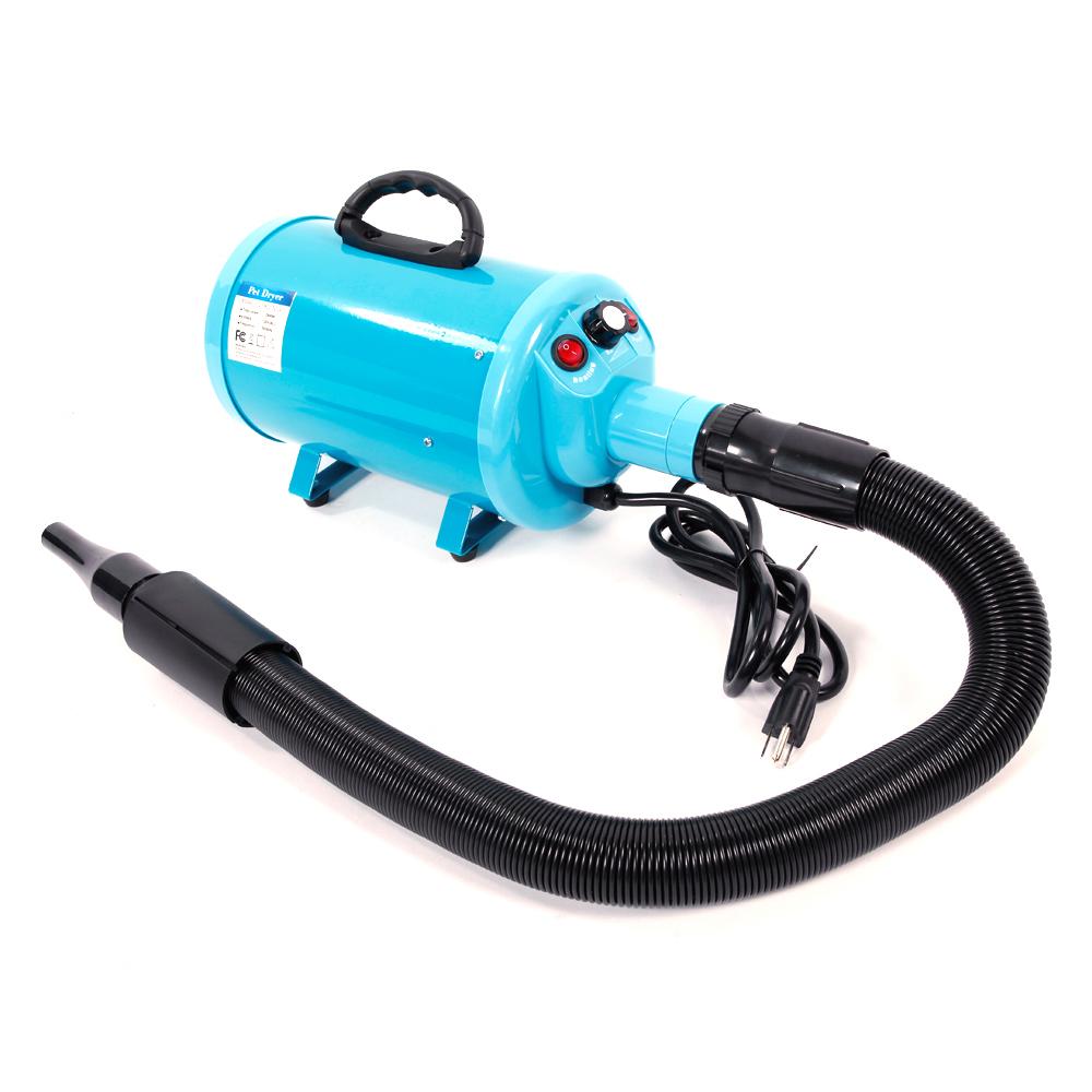 Portable Pet Hair Dryer Quick Blower Heater W 3 Tuyeres