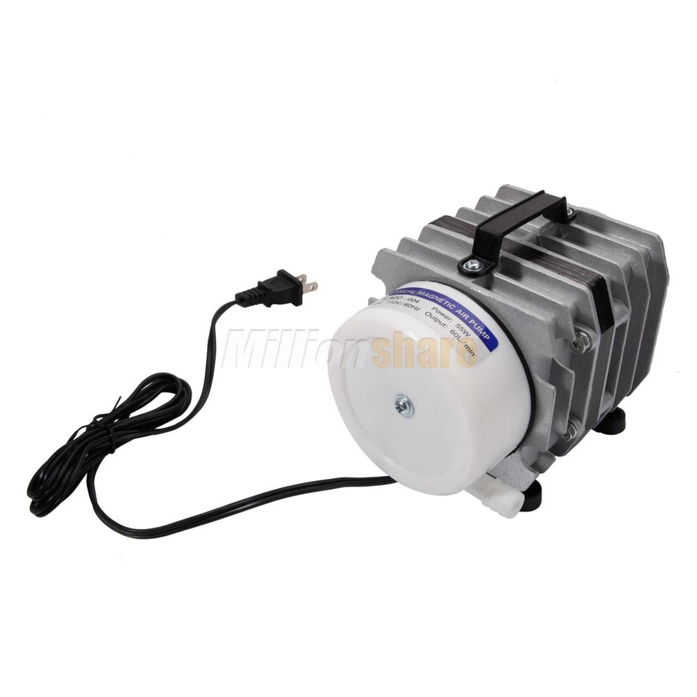 O2 commercial air pump 951gph 8 hole electric magnetic for Hydroponic air pump