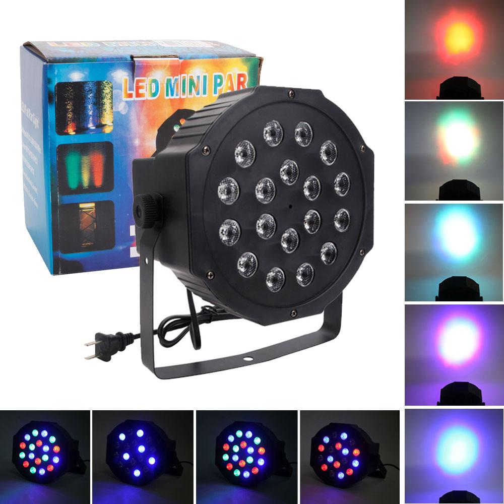 par 30w rgb led stage light disco dj bar effect up lighting show dmx 512 strobe. Black Bedroom Furniture Sets. Home Design Ideas