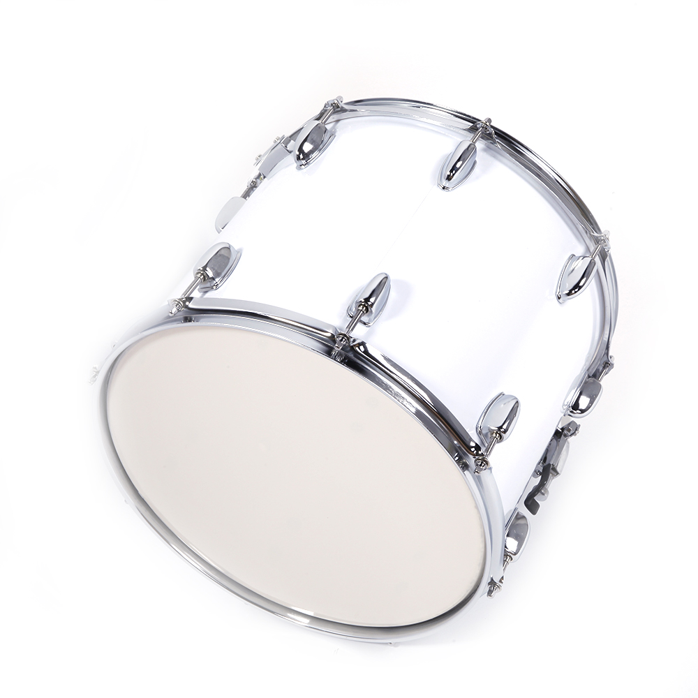 new marching snare drum drumstick percussion silver w drumsticks ebay. Black Bedroom Furniture Sets. Home Design Ideas