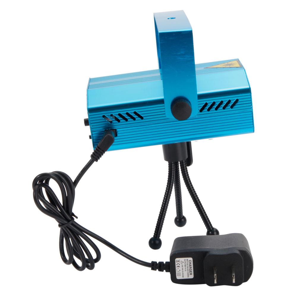 Mini Laser Projector Stage Lights LED R&G Lighting Xmas Party KTV DJ ...