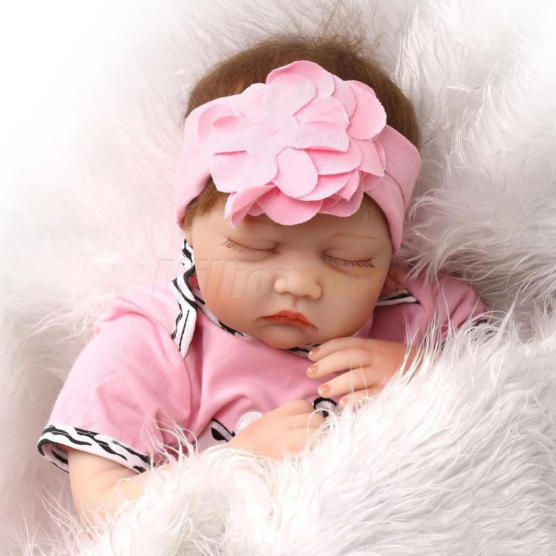 Lifelike Handmade Reborn Baby Doll Newborn Soft Silicone