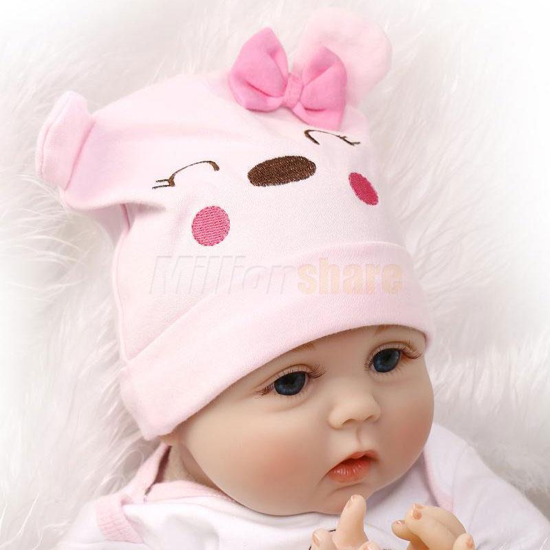 22 Quot Cute Silicone Vinyl Lifelike Realistic Cute Newborn