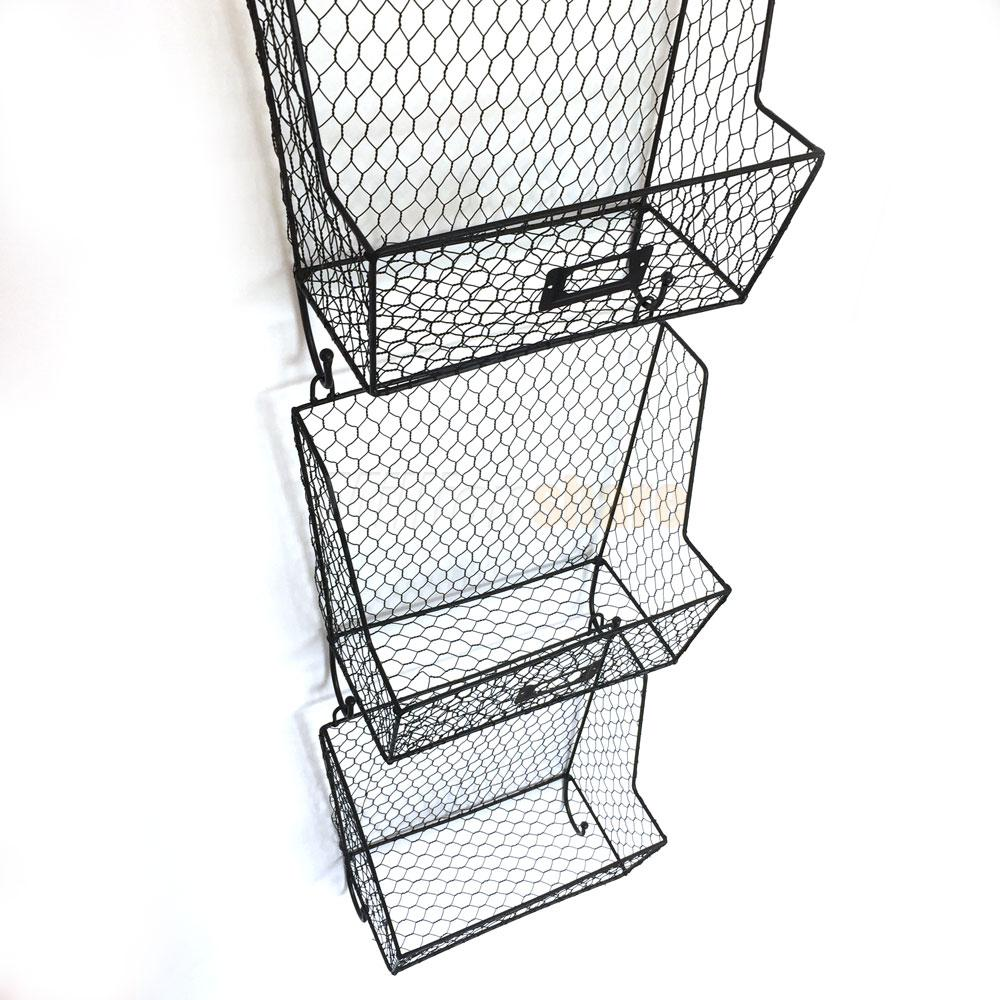 Delighted Wire Mail Baskets For Walls Contemporary - The Best ...
