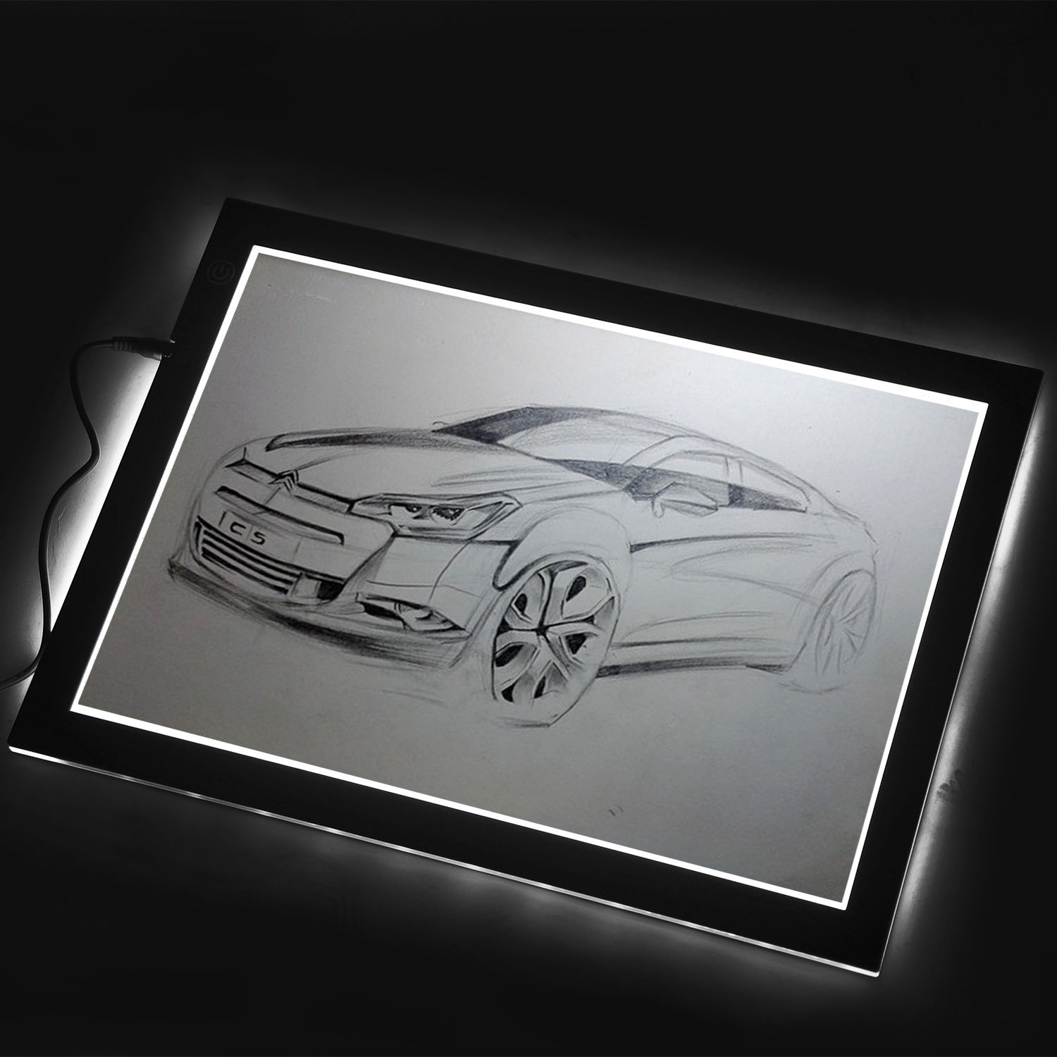Craft light box for tracing - Artist Stencil Board Drawing Tracing Table Light Box Pad Huion L4s 17 7 Inch Ebay