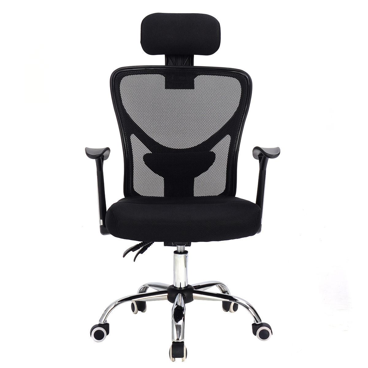 High Back Mesh Office Chair - Mesh back executive home office chair tilt swivel high back computer desk task