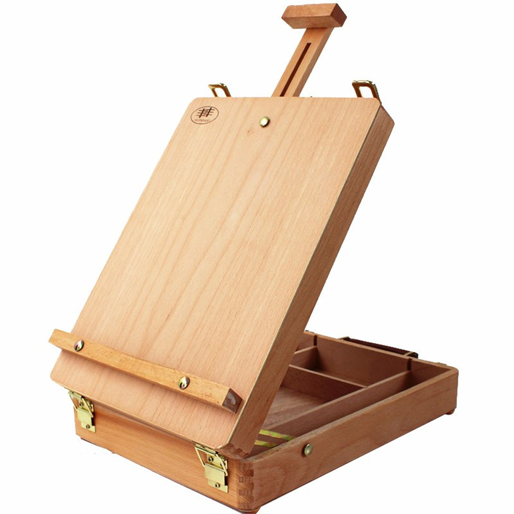 Art Artist Adjust Desk Box Table Top Easel Stand w/Display Painting ...