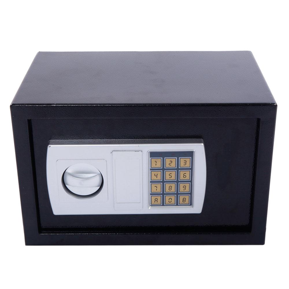 12 5 stark electronic digital lock keypad black safe box cash jewelry gun safe ebay. Black Bedroom Furniture Sets. Home Design Ideas