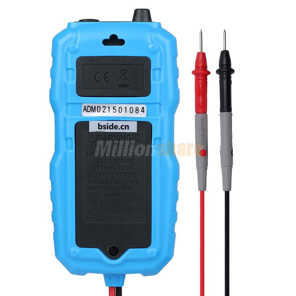 Digital Voltage Tester : Adm auto range digital mini probe multimeter meter