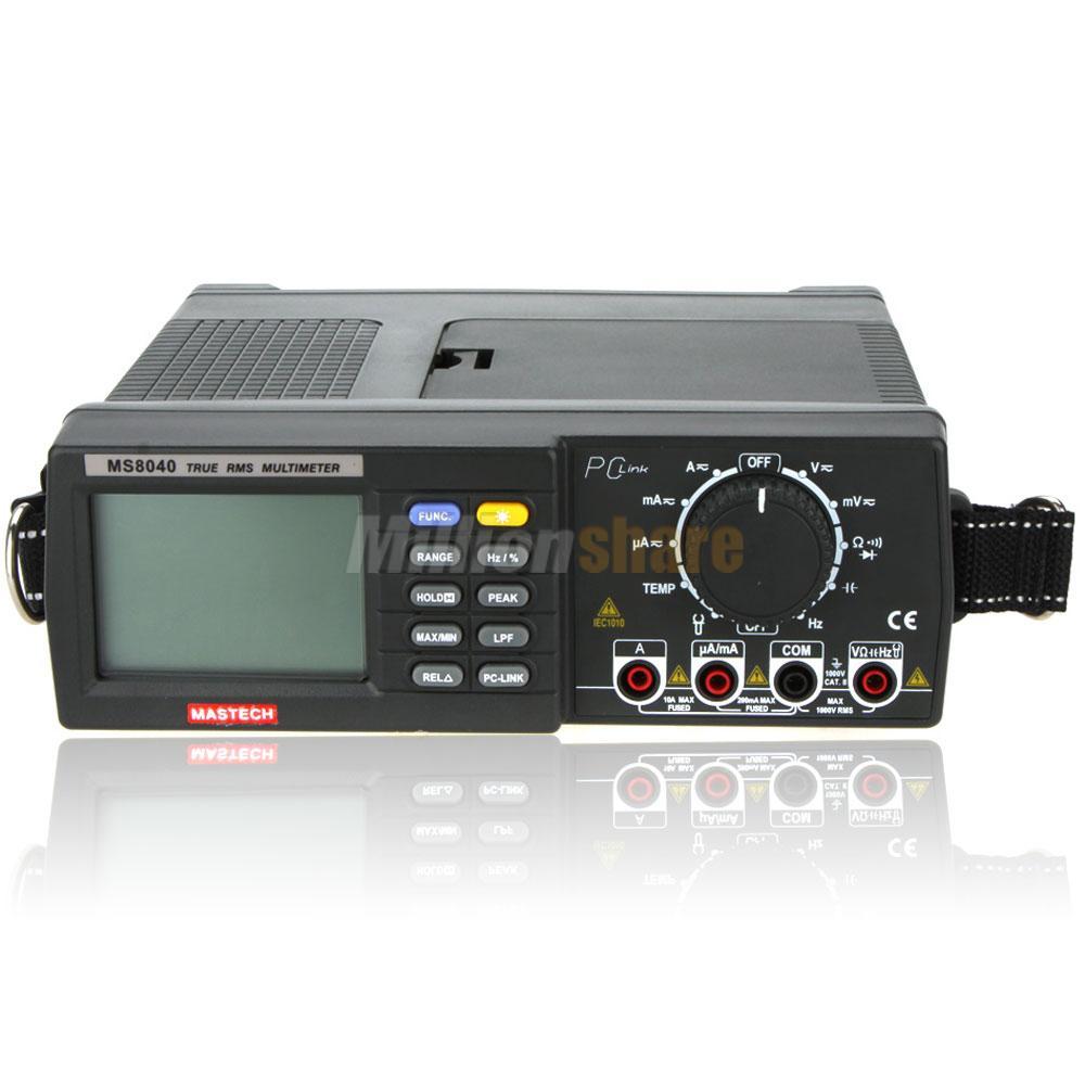 Bench Dmm: MASTECH MS8040 22000 Counts Digital Multimeter True RMS