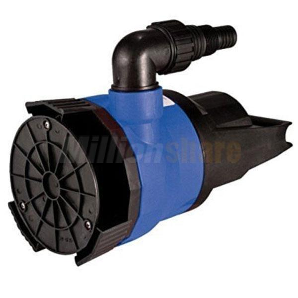 1 5hp plastic dirty water pump submersible pool pond flood for Pond drain pump