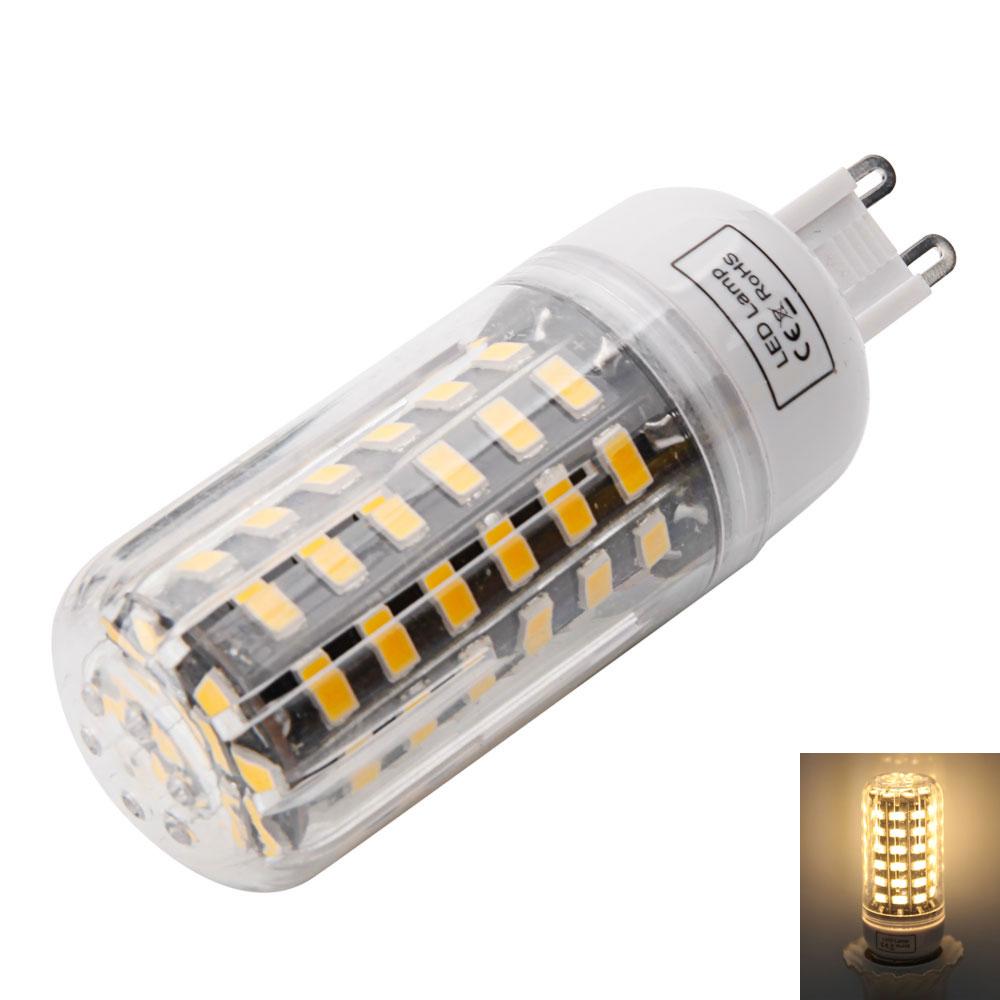 5733 SMD GU10 G9 E14 E27 B22 E12 64pcs LED Corn Bulb Light ...