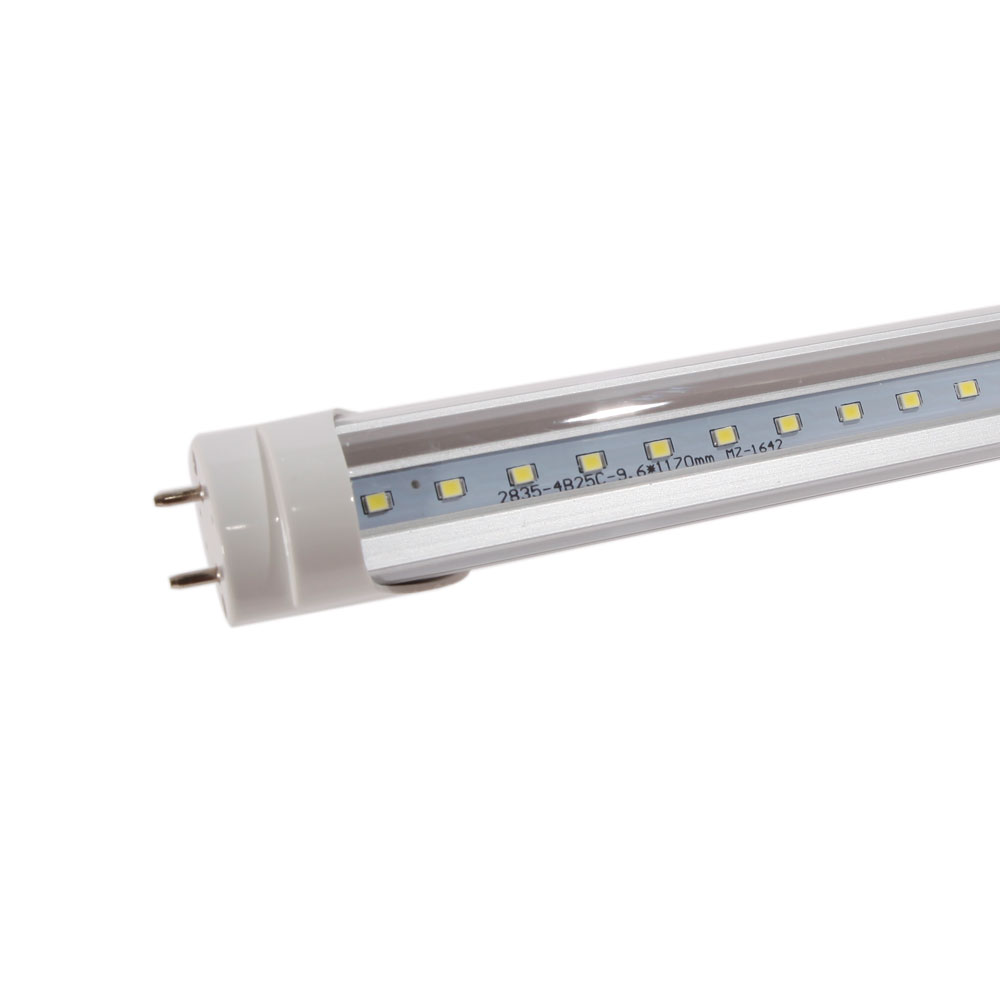 10 25 pack 18w 48 inch 4ft led fluorescent tube light bulb g13 t8 this t8 g13 1198mm 18w 6000 6500k white light led light tube with transparent shell has passed ce fcc rohs and pse authentication arubaitofo Choice Image