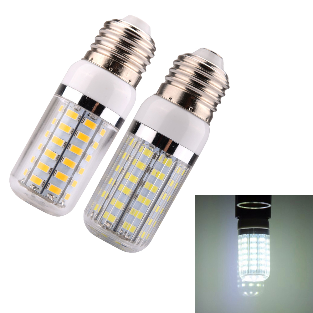 smd 5730 e27 e14 56pcs led corn light bulb lamp with cover. Black Bedroom Furniture Sets. Home Design Ideas