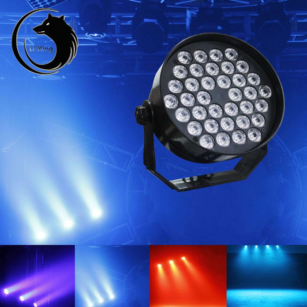 36w led rgb stage lights dmx 512 3in1 6ch par disco party pub dj lighting show ebay. Black Bedroom Furniture Sets. Home Design Ideas